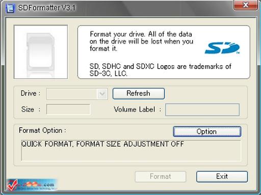 SD Formatter 3.1