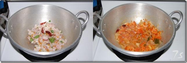 Kara chutney process