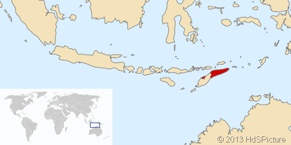 Lokasi Timor Leste