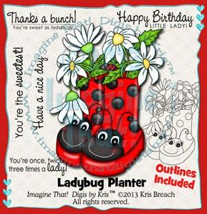 PROMO Ladybug Planter