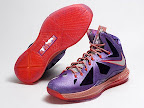 nike lebron 10 gr allstar galaxy 10 03 Release Reminder: Nike LeBron X All Star Limited Edition