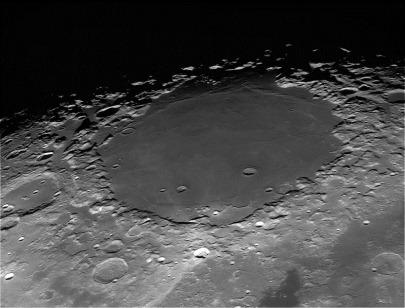 Mare Crisium na Lua