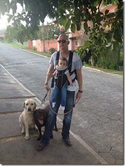 Rob with dogs & Lila