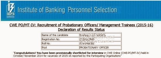 ibps-po-exam-2014-results,ibps po cwe results,check ibps po exam results