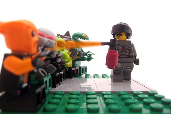 Lego dan peristiwa sepanjang tahun 2011