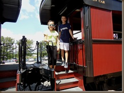 kids on strasburg train 1