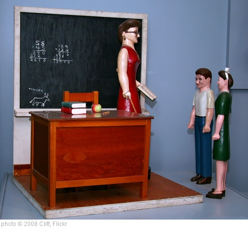 'Classroom with Three Figures' photo (c) 2008, Cliff - license: http://creativecommons.org/licenses/by/2.0/