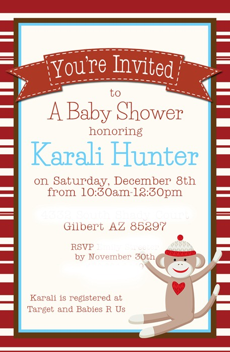 Karali shower invitation1