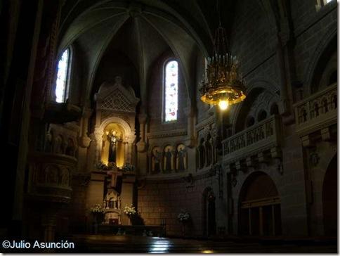 Interior basílica de San Francisco Javier - Navarra