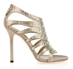 Gucci Crystal Embellished Silk Satin Sandals, $1,100, Net-A-Porter.com