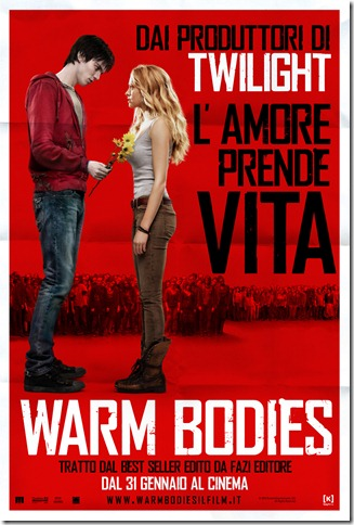 WARM BODIES – Zomeo e Zumbietta locandina