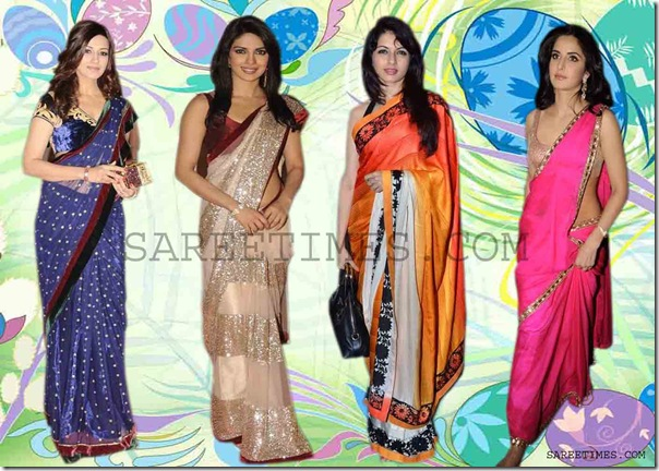 Bollywood Sarees at Screen Awards 2012 | sareetimes