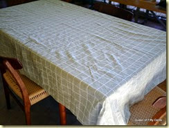 Fifty Cent table cloth