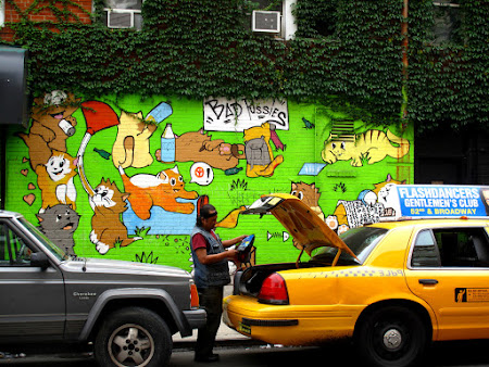 Museums of New York: Lower East Side grafitti