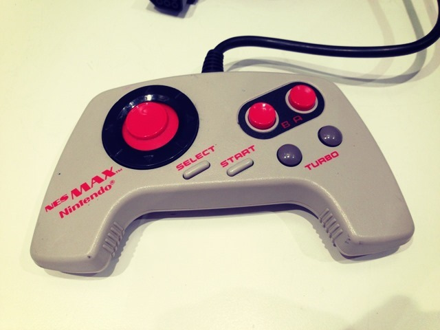 NES Max Controller Close Up