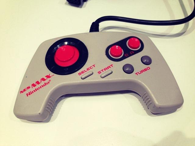 NES Max Controller Close Up
