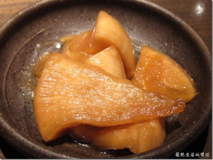 台北-三四味屋。【酒屋旬鮮套餐】醬菜。