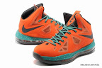 lbj10 fake colorway orange 1 03 Fake LeBron X