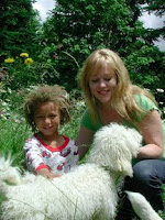 Drake, Shannon and our Labradoodle