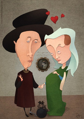 Arnolfini Shotgun Wedding