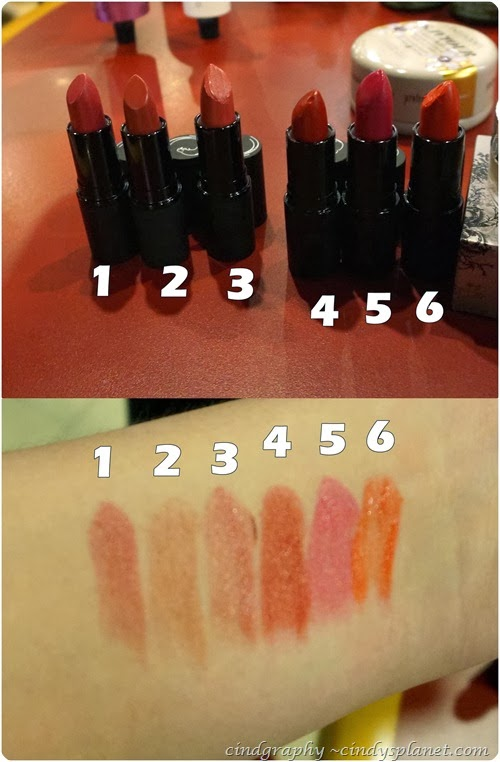 Antipodes Lipstick Swatch