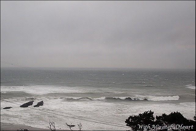 Beach Getaway - Stormy Sea