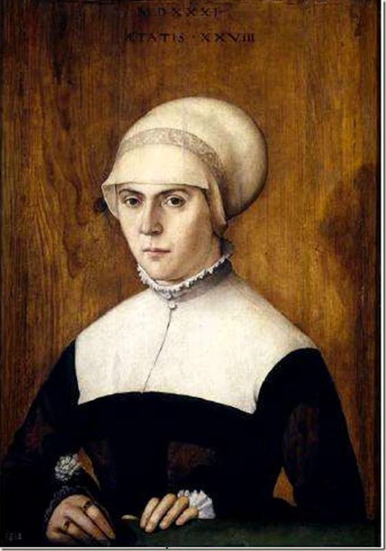 Amberger, Portrait de femme