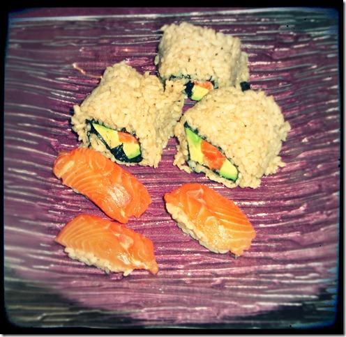 entrée sushi