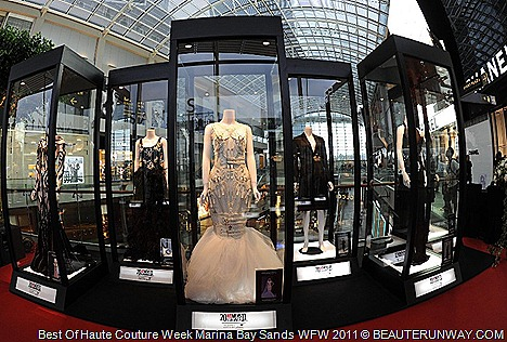 Eymeric Francois Gustavo Lins Haute Couture Singapore Exhibition at Marina Bay Sands