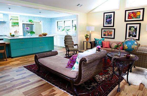 ejemplos de cómo agregarle color a tu casa