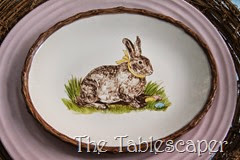 Rustic Rabbits Easter Tablescape - The Tablescaper13