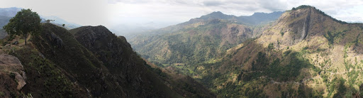 The vista from Little Adam's Peak