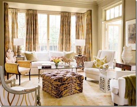 Kardashian room interior design and romance attractive for Animal print living room decorating ideas