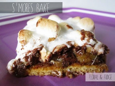 s'mores bake