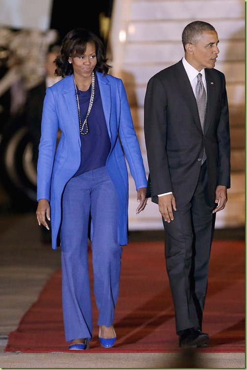 Michelle Obama Barack Obama Visits South Africa 1qA8y3U97K9x