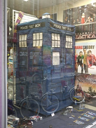 TARDIS materialising in a window near you - €95