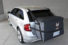 car camping saddlebag