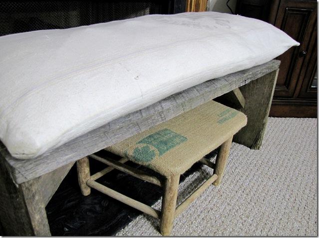 wood stool 3