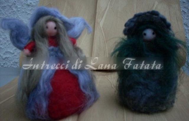 Queen Fairy e Fungetto