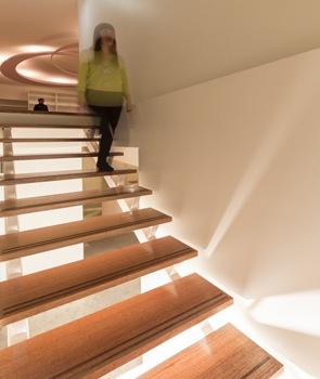 Diseño de escaleras Centro Médico Edgecliff