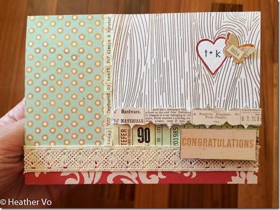 Wedding Card by Heather Vo