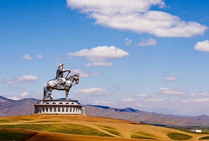 Image result for The world's largest statue of Genghis Khan, Mongolia