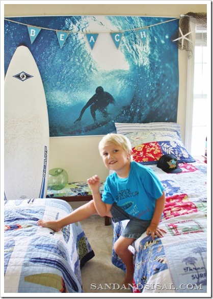 Beach Banner Surf room
