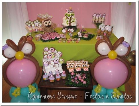festa Corujinha Clean; Doces Corujinha; Festa Clean