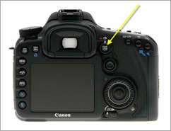 Canon 7D video button