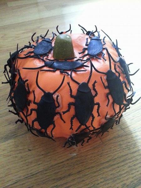 Roach pumpkin