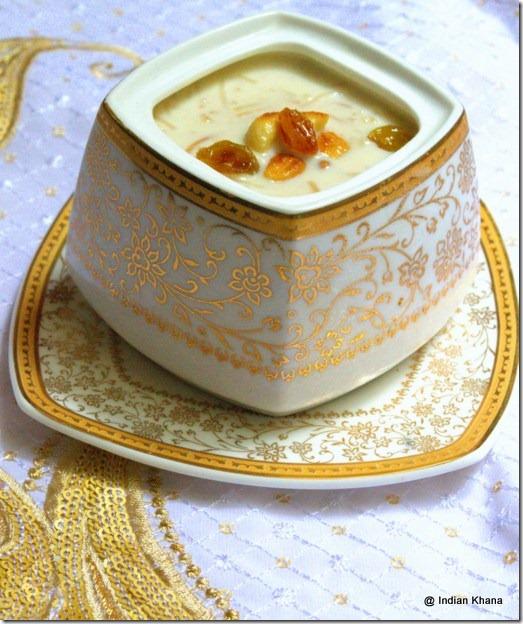 seviyan dessert semiya without milk recipe indian festival food