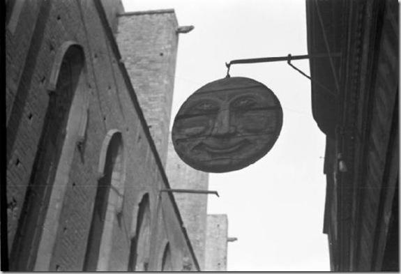 Barcellona - insegna. 1947