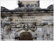 Монумент на месте гибели Магеллана. Филиппины. Фото Курчиной Л. www.timeteka.ru