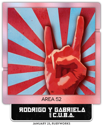 Area 52 by Rodrigo y Gabriela